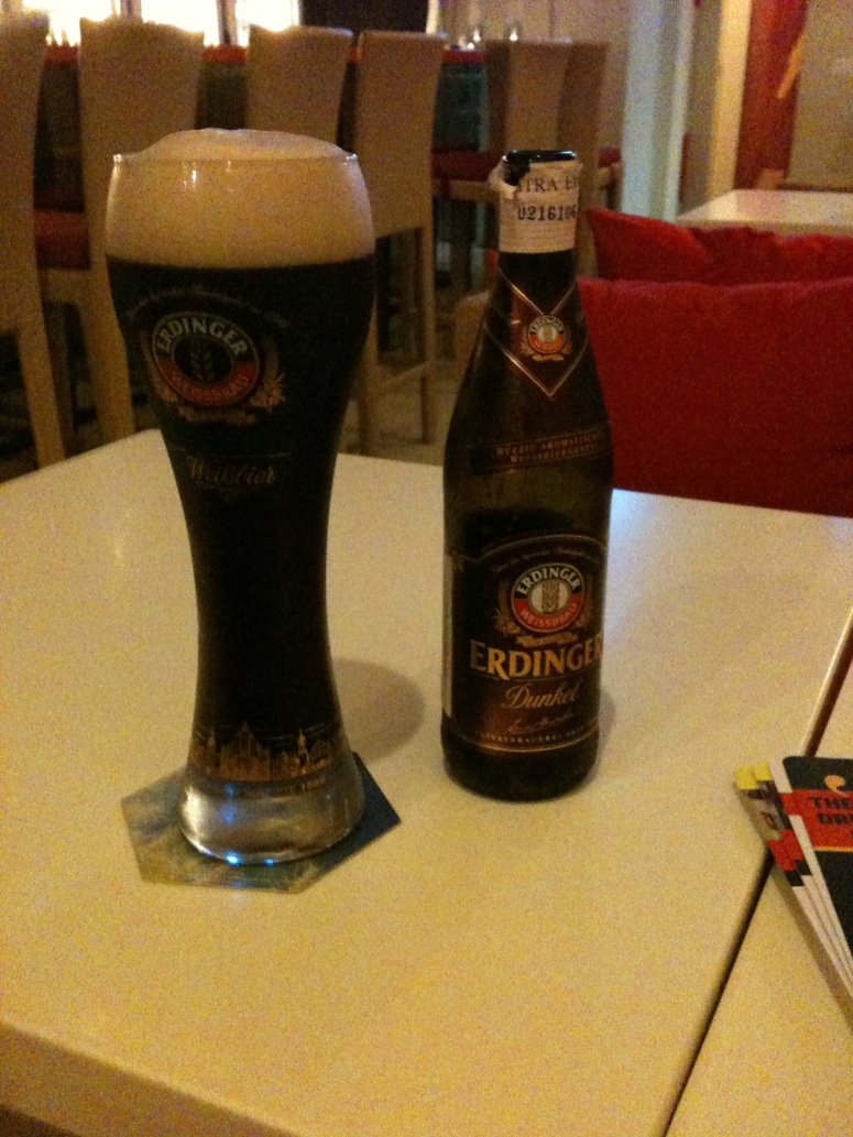 Erdinger Dunkel - The Best Beer in the world