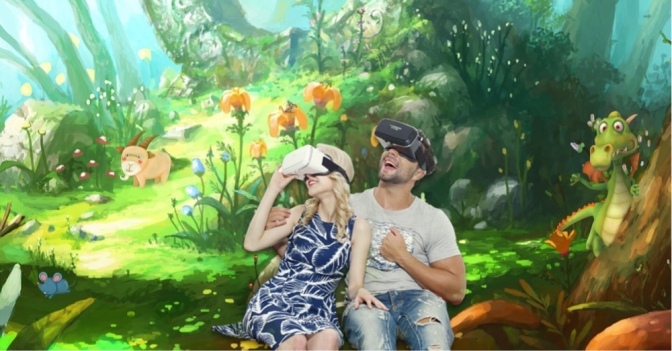 Virtual Reality the future of cinema.